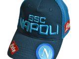 Napoli Cappellino Visiera Azzurro 2019-20