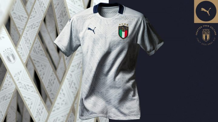 "PUMA PRESENTA IL NUOVO KIT AWAY ""CRAFTED FROM CULTURE"" DELL'ITALIA"